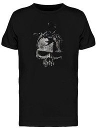 Black Shirt Loose Skull Australia - Goth Scorpion On A Skull Men's Tee - Image By Wholesale Discount Cool Casual Pride T Shirt Men Unisex New Fashion Tshirt Loose Size