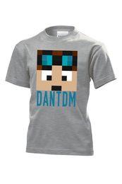 Cotton Cart NZ - Dan TDM T-Shirt Fun l Cart DanTDM Adventures Kids Gamers children minecart TDM