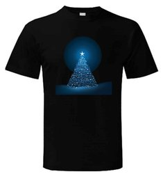 Gift For Dad Christmas Australia - CHRISTMAS TREE MENS T-SHIRT - Present Gift Xmas Novelty Cute Dad Man Print T-Shirt Hipster High Quality For Man Better