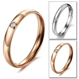$enCountryForm.capitalKeyWord NZ - Gold Rings Jewelry Hot Sale Stainless Steel Band Finger Ring Women and Men Fashion Jewellery Wholesale Free Shipping 0710WH