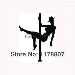 Discount wholesale laptops stickers - HotMeiNi Wholesale 20pcs lot Stripper Pole Dancer Sticker Sexy Woman for Car Rear Windshield Truck Auto Door Laptop Deca