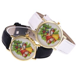 Glasses Fast Australia - Hot Fast Shipping Christmas Fashion Casual Lady Quartz Glass Mirror Hook Buckle Watch Leather Strap Christmas Present Gift #20