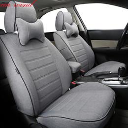 Automovil Auto Car Seat Covers For Toyota RAV4 PRADO Highlander COROLLA Camry Prius Reiz LAND CRUISER Accessories