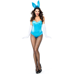 $enCountryForm.capitalKeyWord UK - Two Colors Halloween Rabbit Role-playing Costumes Sexy Rabbit Suit Carnival Party Clothing Bunny Girl Cosplay wear Sexy Suit