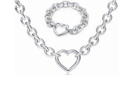 Silver Heart Ring Bracelet Australia - (Bracelets+Necklaces) Color Splash Tag Charm Heart & Arrow Pendant silver 925 Necklaces Bracelets Rings Earrings Charms Jewelry