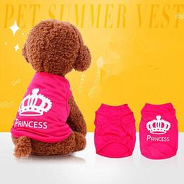 Small Size Coats NZ - 4 Size Super deal pet dog clothes Summer Small Dog Clothes Jacket Designer Dog Coats