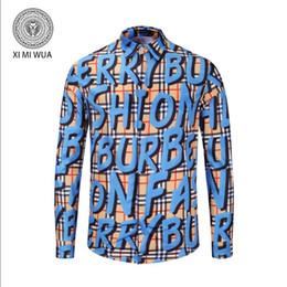 Descuento 2018 famosa marca para hombre camiseta casual manga larga 3d  diseñador de lujo hombres camiseta europea y americana ropa de manga larga d7584bbbe881d