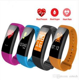 Sport Pulse Heart Rate Monitor Australia - 2018 M99 color Smart Wristband M99 Smart Bracelet Women Men Heart Rate Monitor Bluetooth Smartband Pedometer Sports Fitness Band Waterproof