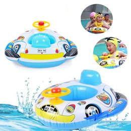 $enCountryForm.capitalKeyWord Canada - New Baby Float Inflatable Swim Ring Seat Support Pool Float Rubber Car Shaped Swimming Ring flotadores para piscina life buoy
