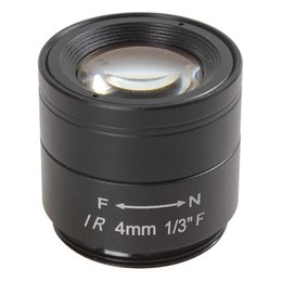 4mm camera online shopping - 4mm F1 quot MP High Definition IR Lens for CCTV Camera CCT_203