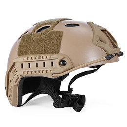 China Lightweight Tactical Crashworthy Protective Helmet Head Protector Face Mask Outdoor Cycling Helmets for CS Paintball Game supplier tactical paintball masks suppliers