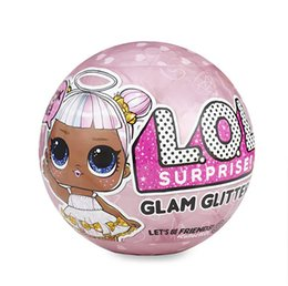 Chinese  2018new Glitter Series Doll Magic Egg Ball Action Figure Toy Kids Unpacking Dolls Girls Funny Dress Up Gift Christmas Free shipping manufacturers