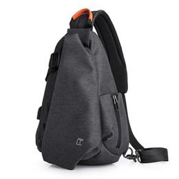 Single Shoulder Strap Packs Australia - Oxford Men Crossbody Bag Single Shoulder Bag Strap Pack Fashion Messenger Chest Pack Student Sport Casual Waterproof