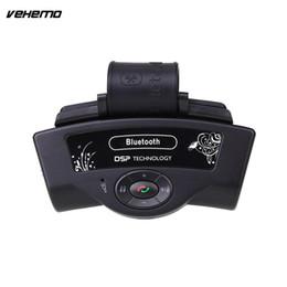 steering handsfree bluetooth 2019 - Vehemo Vehemo Handsfree Microphone Speaker Steering Wheel Bluetooth Receiver Car Kit BT8109B cheap steering handsfree bl