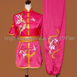 $enCountryForm.capitalKeyWord Australia - Chinese wushu uniform Kungfu garment Martial arts suit taolu outfit Embroidered Routine clothes for men women children boy girl kids adults