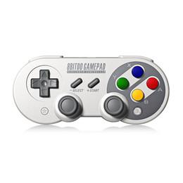 China 8Bitdo SF30 Pro Gamepad Controller Joystick for Nintendo Switch Windows Mac OS Android Rumble Vibration Motion Controls USB-C supplier joystick nintendo suppliers