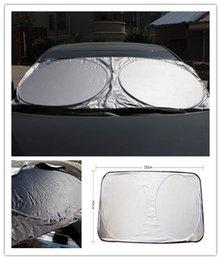 $enCountryForm.capitalKeyWord UK - 2PCS Car Sunshade Front Rear Windshield Window Foldable Sun Shade Shield Sun Visor UV Block Auto Sun Visor Windshield Block Cover