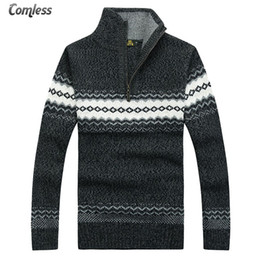b19260190 knitting patterns clothes 2019 - Men s Sweater Winter New Pullover  Snowflake Pattern Men Casual Fashion Stand