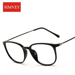 af59df46b7 Simvey Fashion Korean Nerd Optical Glasses Frames Women Vintage Brand  Designer Big Square Eyeglasses Frame Ultralight