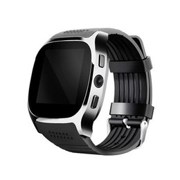 China T8 Smart Watch With Camera Facebook Whatsapp Support SIM TF Card Call Smartwatch For Android Phone Sport Pedometer cheap t8 phone suppliers