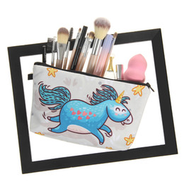 $enCountryForm.capitalKeyWord Canada - LASPERAL 3D Printing Makeup Bags Cartoon Animal Pattern Cute Cosmetics Cases Pouchs For Travel Ladies Women Cosmetic Bag Pouch