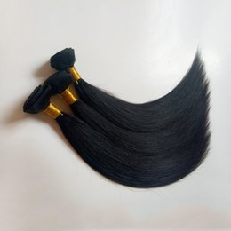 Bleachable Hair Australia - Malaysian Virgin Hair Straight 3 4 5Bundles wholesale 8-30inch Unprocessed Brazilian Human Hair Weave Bundle Deals Dyeable Bleachable
