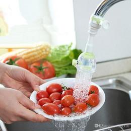 Faucet Kitchen Shower Australia - Practical kitchen shower nozzle Rotary anti splash tap water valve mouth filter economizer kitchen water-saving device IB673