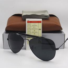 6fff8bf578 Excelente Calidad Hombres Diseñador Masculino Gafas de Sol Piloto  Outdoorsman Gafas de Sol Gafas Oro Verde Dorado negro 62mm Lentes de  Cristal Marrón Caja
