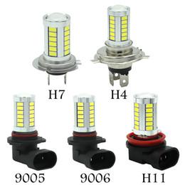 H11 fogs online shopping - 2pcs Car H8 H11 led hb3 hb4 h4 h7 hi lo Headlights SMD LED Fog Lamp Daytime Running Light Bulb Turning DC12V