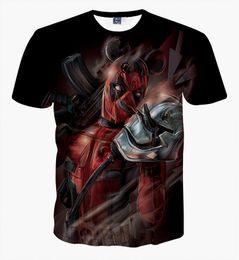 Discount deadpool 3d shirt - New Arrival American Comic Badass Deadpool T Shirt Men Women Cartoon Characters 3d t-shirt Funny Casual tee shirts tops