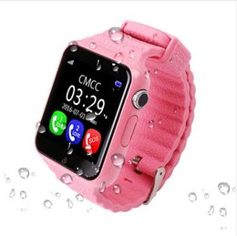 $enCountryForm.capitalKeyWord Canada - V7K GPS Bluetooth Smart Watch for Kids Boy Girl Apple Android Phone Support SIM TF Dial Call and Push Message waterproof smartwatch 10pcs