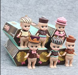 $enCountryForm.capitalKeyWord NZ - 6 pcs set Kewpie Doll Sonny Angel action figure set Toy Sonny Angel Valentine's Day Chocolate Series PVC Figure for Kids Phone Accessories