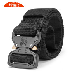 China New Nylon Belt Men Army Tactical Belt Molle  SWAT Combat Belts Knock Off Emergency Survival Waist Tactical Gear Dropship supplier new tactical gear suppliers