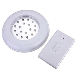 China High Quality 18 LED Wireless Cordless Ceiling Wall Light with Remote Control Switch Stair Closet Lamp Battery Operated Bulb cheap cordless remote control suppliers