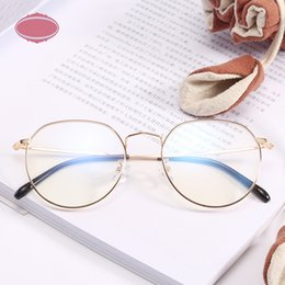 1c4907a799e korean eyeglasses 2019 - Vintage Round Glasses Frame for Women Fashion  Myopia Spectacle Frames Korean Men
