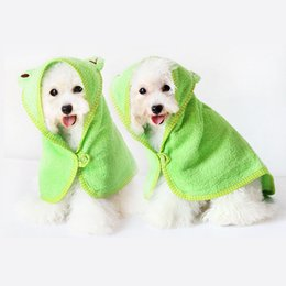 $enCountryForm.capitalKeyWord NZ - Pet Dog Towel Drying Towel For Dogs Absorbent Shower Dog Bath Cat Pet Blankets Cleaning Product Supplies Chihuahua