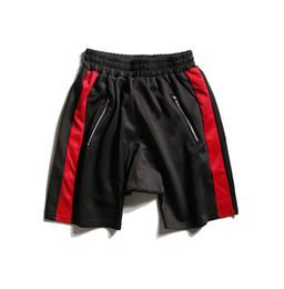 Knee sKateboard online shopping - Fashion Justin Bieber Style Men Summer Shorts Skateboard Streetwear Loose Shorts Hip Hop Jogger Shorts M XL