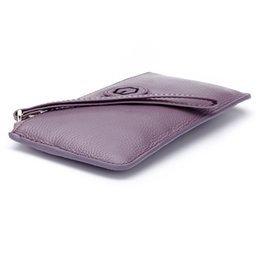 $enCountryForm.capitalKeyWord NZ - Genuine Cow Leather Women Wallet Zipper Long Coin Purse Fashion Brand Designer Card Holder Cell Phone Money Bag