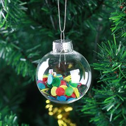 $enCountryForm.capitalKeyWord NZ - Wedding Bauble Ornaments Christmas Xmas Balls Decoration 80mm Christmas Balls Clear Plastic Wedding ballsChristmas Tree Xmas Balls