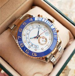 Ship Free Mens Wrist Watches Australia - 2018 NEW Luxury Mens Automatic Cal.2813 Ceramic Bezel White Dial Watches Men Ceramic Bezel 116681 Gold free shipping