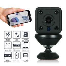 Cctv Wifi Ip Australia - HD WiFi IP Camera 720P Mini Wireless IR-CUT Motion Detection P2P Onvif Phone APP control CCTV Security Home system