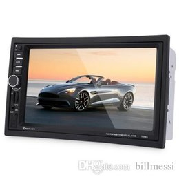 Discount dvd tv stereo - 7020G 7 inch Car Audio Stereo MP5 Player Remote Control GPS Navigation Function GPS Navigation Radio Bluetooth FM USB MP