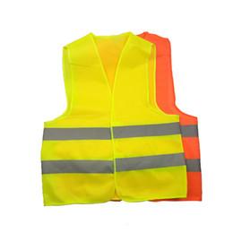Nouveau Haute Visibilité Sécurité Travail Construction Gilet Avertissement Trafic Réfléchissant Veste De Sécurité Vert Vêtements de Sécurité Réfléchissants 50 pcs en Solde