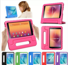 Tablet Stand For Kids Australia - Kids Children Handle Stand EVA Foam Soft Shockproof Tablet Case For Apple iPad Mini 2 3 4 Ipad Air ipad pro 9.7 X10pcs