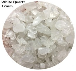 $enCountryForm.capitalKeyWord Canada - C01 17mm White Crystal Natural Stone Chips Gravels Block Quartz Aquarium