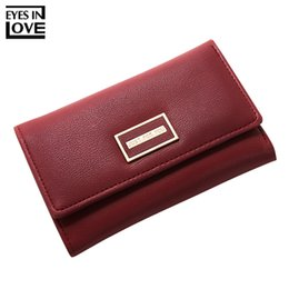 Size Wallet NZ - Famous Brand Designer Trifold Wallet Women Zipper Coin Bags Holder Small Size Female Wallets Ladies Purse Carteira