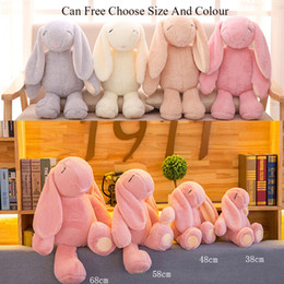 $enCountryForm.capitalKeyWord NZ - 2018 Newest Bonnie Mimi Rabbit Toys Bunny Plush Toy Rabbit Cute Stuffed Baby Girls Toys Cute 38CM 48CM 58CM 68CM Easter Gifts