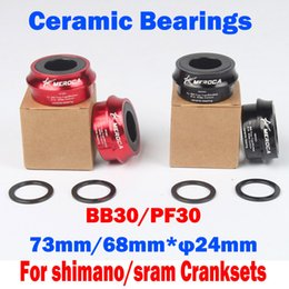 Wholesale Hot Sale ceramic bearings Precision machining light weight Bicycle Bottom Bracket PF30 BB30 Bicycle Accessories