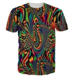 $enCountryForm.capitalKeyWord Canada - 2018 New Fashion Tees Summer Men Women 3D T Shirts Print Trippy Psychedelic Whirlpool Colorful Graphic T Shirt Hip Hop Tops Casual Clothing