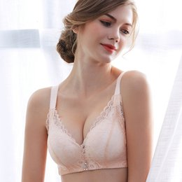 eb56a9123bb Deruilady New Rose Bra Wire Free Thick Adjustable Push Up Bras For Women  Floral Sexy Lingerie Underwear Women Soft Lace Bralette